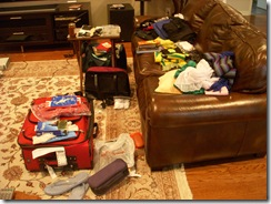 Suitcase aftermath