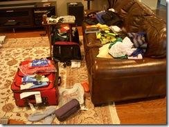 Suitcase aftermath