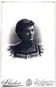 Undated photo of Hattie Cather.