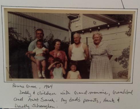 Straughn Family Photo, 1964