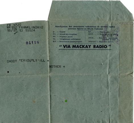 Radiogram, 14 Dec 1945