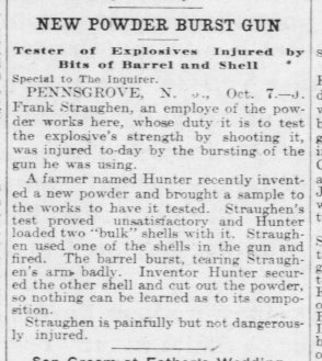 Straughn 1903 Newspaper J Frank The_Philadelphia_Inquirer_Thu__Oct_8__1903_