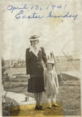 Peggy with Mother, Pauline Coleman